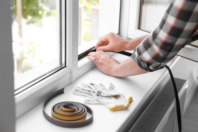 درزگیری پنجره ها